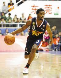 Aaron Brooks debuts for the Guandong Tigers of the CBA.