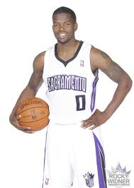 Brooks in his new Sacramento digs. He will actually wear #3. Is trademark #0  is occupied by incoming rookie star from Kansas Thomas Robinson.