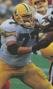 I the 90s Oregon offensive lineman Steve Hardin tipped the scales at 330+, but even he was dwarfed by fellow OL Tasi Malepeai, playing around 360. Who said these Ducks were small?