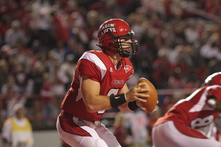 Senior QB Ryan Aplin set a school records for passing yards, and led the team in rushing in 2011