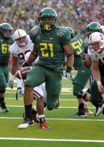 LaMichael James led the Pac-12 in rushing, yards per carry, and touchdowns in 2011. Who&#039;s next?