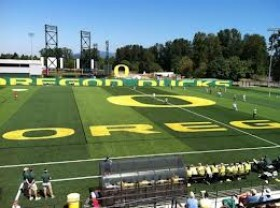 The newest phenom in the Oregon athletic department, Pape Field.