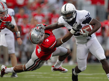 Penn State fans know what it is like to be stiff-armed by Silas Redd