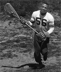 Jim Brown was an All-Star midfielder for the 'Cuse from 1954-56