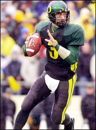 Captain Comeback, Oregon QB Joey Harrington