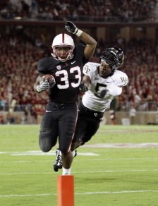 With Andrew Luck now in the NFL, Stanford&#039;s Stepfan Taylor is now the team leader.