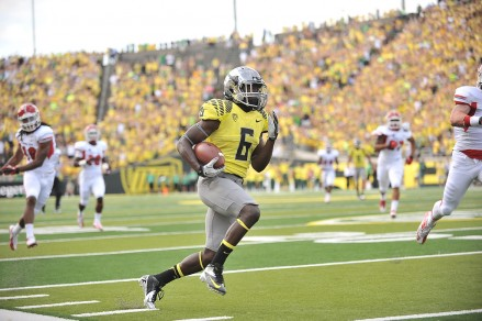 De'Anthony Thomas sprints for a touchdown vs. FSU