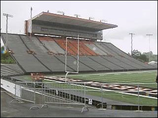 The Beavers drew a slightly smaller crowd than usual in getting beat by Nicholls State
