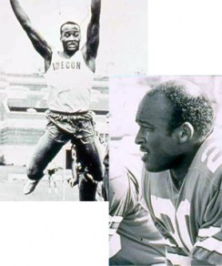 Mel Renfro was a star at Hayward Field, both on the field and the track