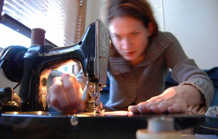 Anonymous UW Seamstress, Working Under a Deadline