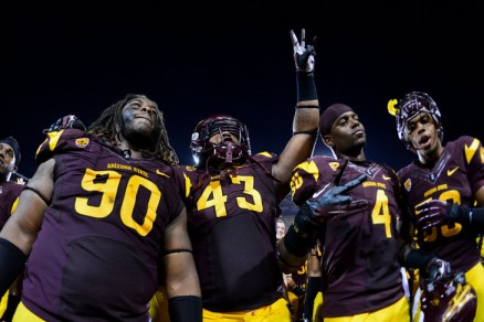 NCAA Football: Utah at Arizona State
