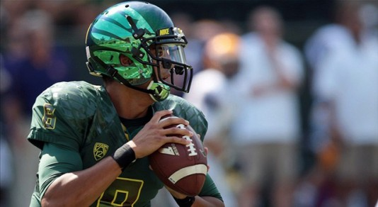 Mariota has shown rare skills and smarts as a 1st year QB