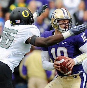 Jake Locker is just one of Washington's star players to falter against Oregon