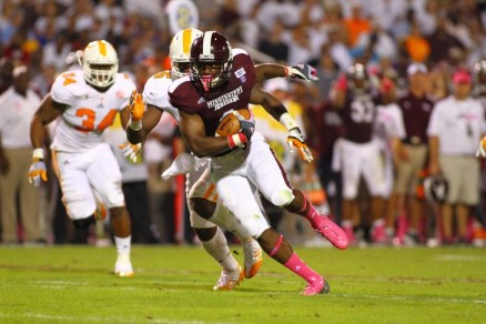 NCAA Football: Tennessee at Mississippi State