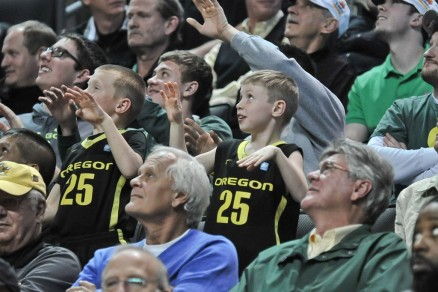 Oregon Fans Were Noticeably On Edge All Game Long