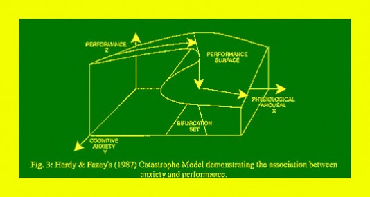 Figure 7. Catastrophe Model of Anxiety