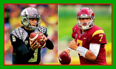 Figure 10. One of these two QBs was better mentally prepared for the UO-USC game in 2012.