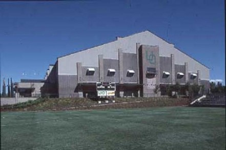 The original Moshofsky Center, seen prior to stadium expansion.