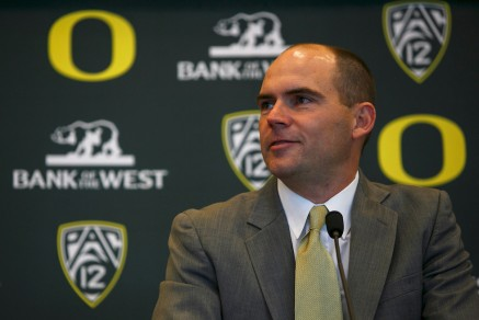 Head Coach Mark Helfrich