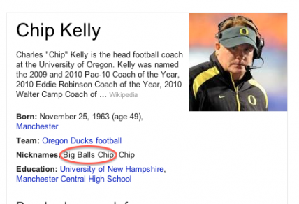 Chip's nickname (according to Google) tell's all