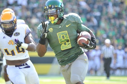 Byron Marshall will be a crucial part to the Duck's offense next season