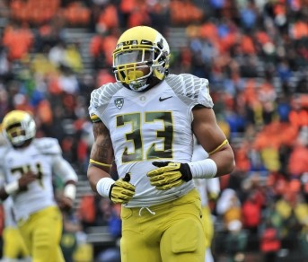 Coleman surprised many Duck fans last year as a reserve linebacker.