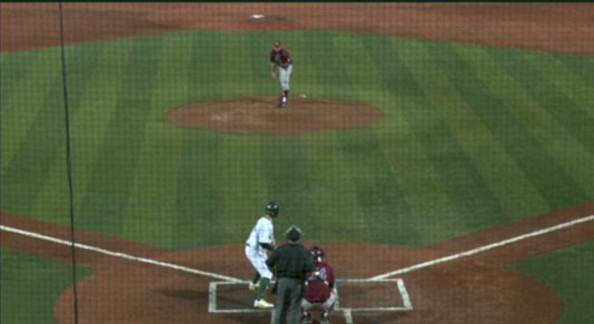 Oregon at bat #1