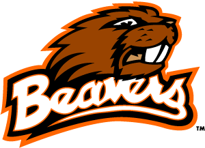 "Captioned ""Beavers"" In Case the Student Section Couldn't Identify Their Team."