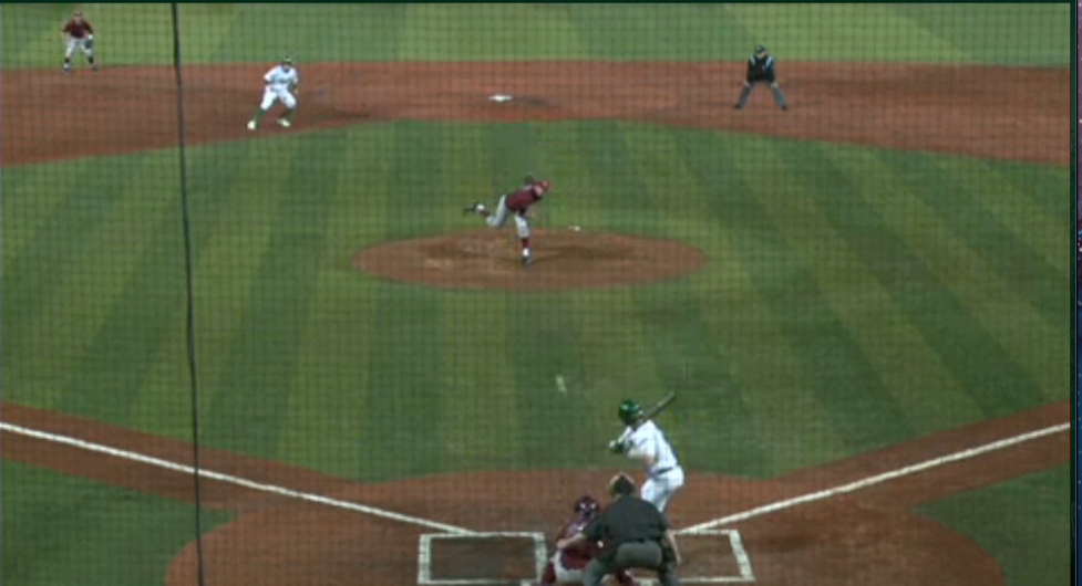 Runner at second