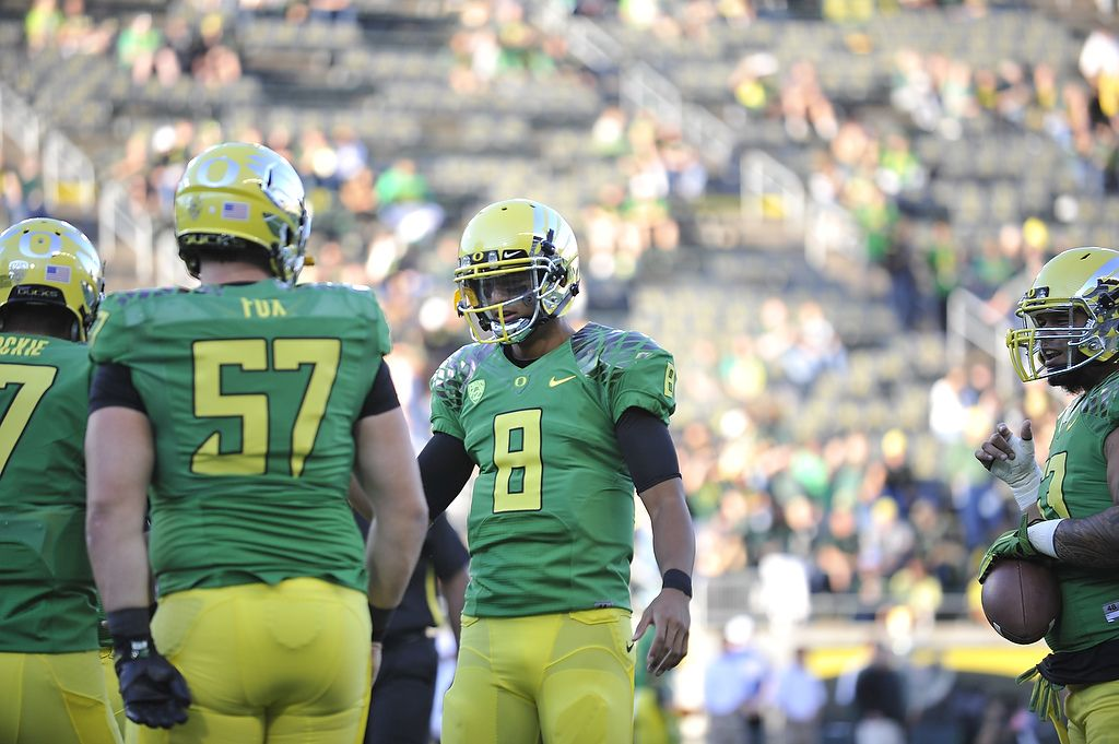 Freshman quarterback Marcus Mariota will look to continue Oregon's streak of BCS Bowl appearances in 2013.