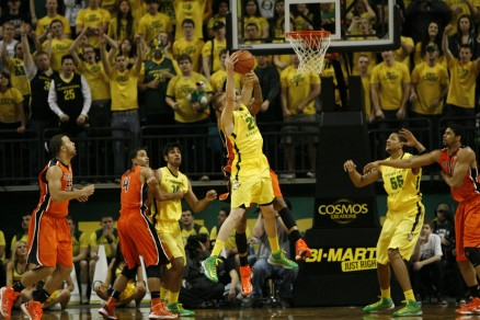 Ducks vs OSU basketball 350