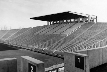 View of the &quot;Old Roof&quot; on Autzen&#039;s south side. (Photo via BenzDuck.com)