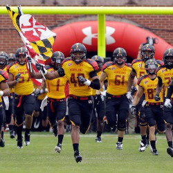 at Byrd Stadium on September 24, 2011 in College Park, Maryland.