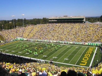 Autzen is a huge reason why the Ducks are so successful-it is time the NCAA allow schools to pay for a parent to accompany their sons
