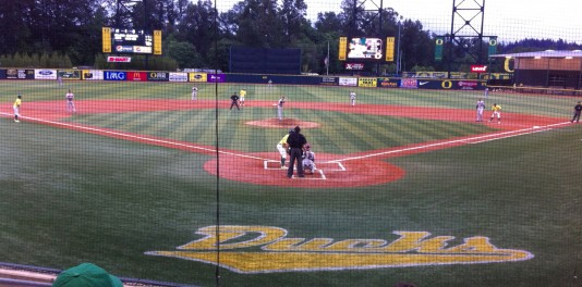 Bases loaded with Ducks!