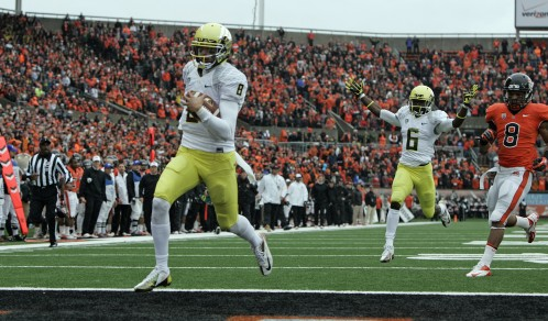 Last time the Ducks faced the Buckeyes, in 2010, they did not have Marcus Mariota or De'Anthony Thomas on the team.