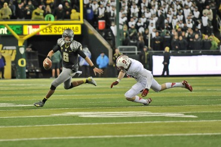 Look for Mariota and the Ducks to run away from the Pac(k) this year