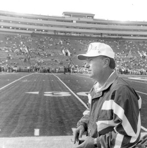 Rich Brooks spent 18 years in Eugene as head coach (1977-1994)