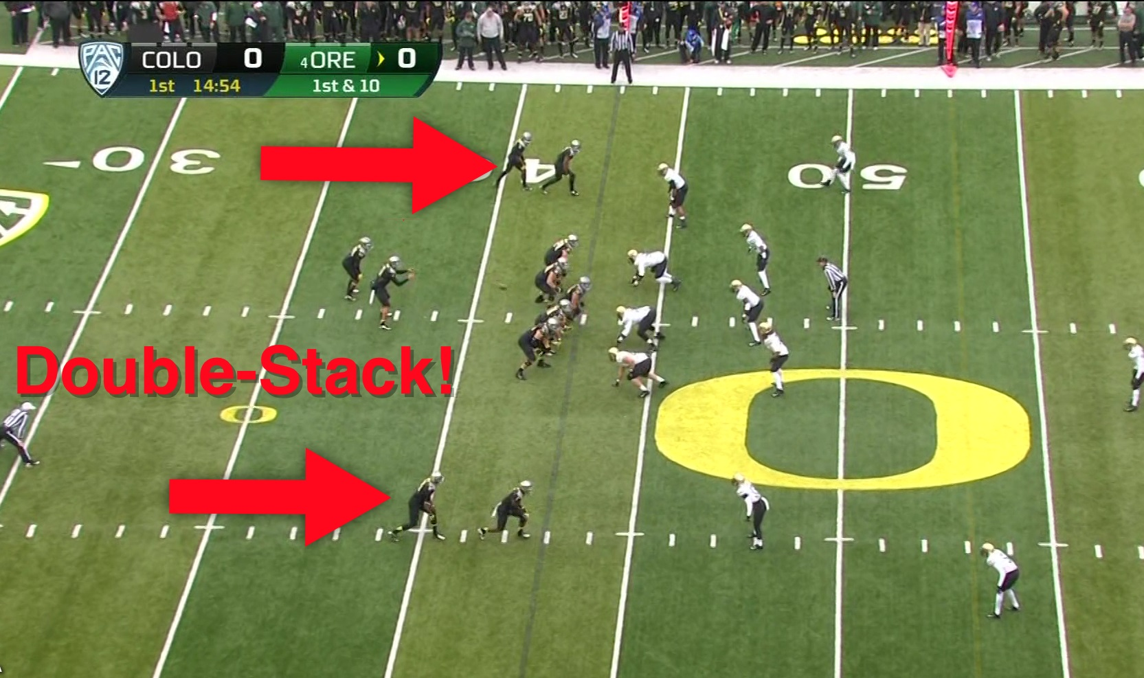 Oregon's doublestack play, 2012