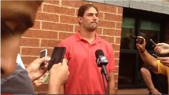 Riley Cooper eating crow