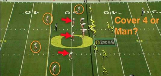 Cover 4 or Man defense?