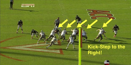 Oregon's traditional Outside Zone Read