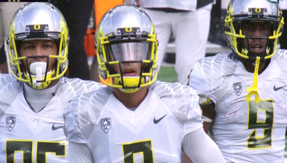 Pharaoh Brown, Marcus Mariota and Byron Marshall will need to keep up production throughout the season.