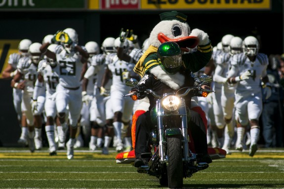 Oregon is in the driver's seat for their national championship hopes.
