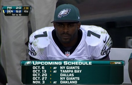 Michael Vick looks ahead to better times