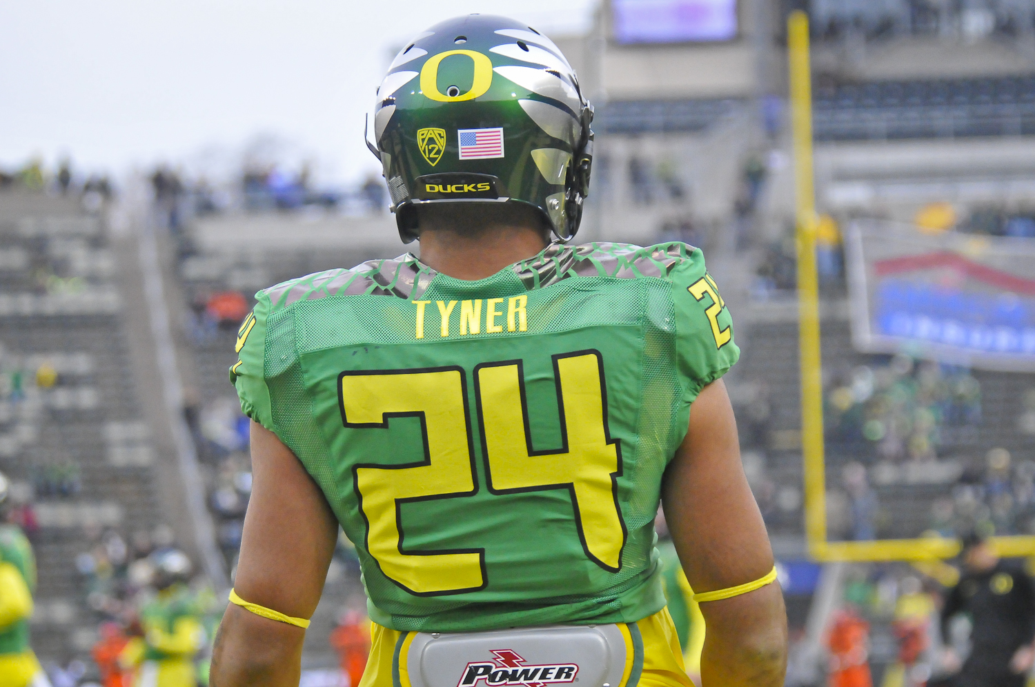 Tyner had a great game, finishing with 153 yards rushing