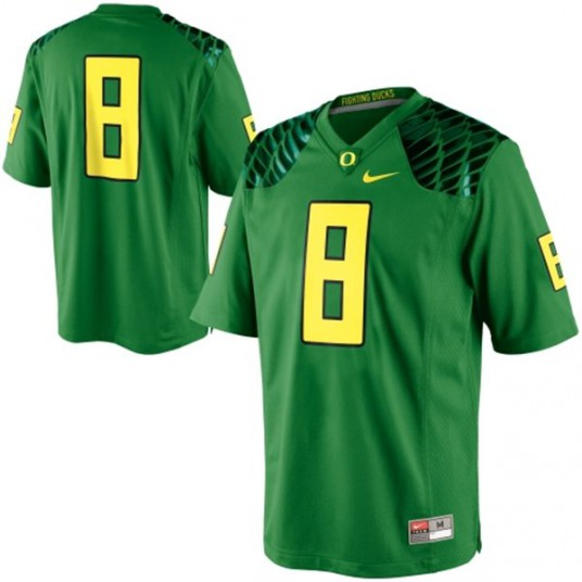 #8 Jersey as worn by Marcus Mariota