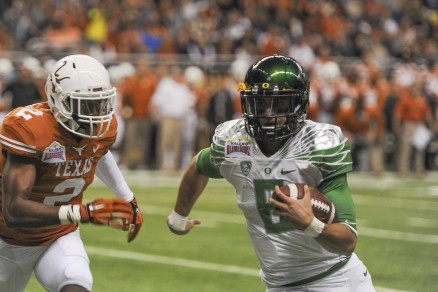 With Mariota returning, Oregon will remain a contender.