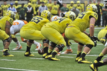The return of Hroniss Grasu (55) is a huge endorsement for the Oregon program.