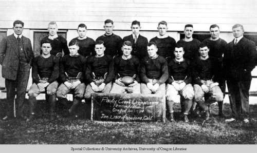 1917 Rose Bowl Champs